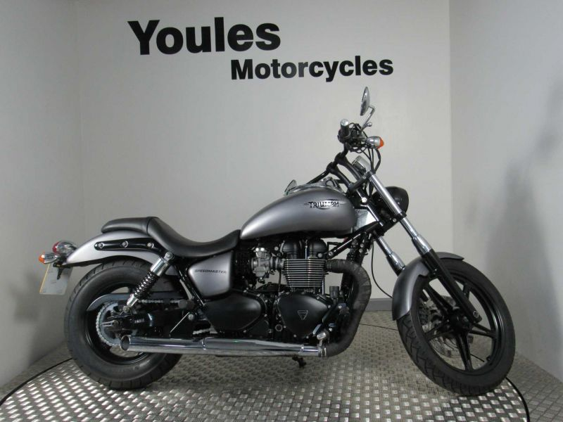 Used Bikes And Scooters Triumph Triumph Speedmaster 865 Grey