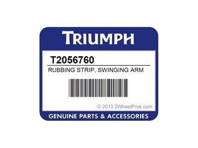 RUBBING STRIP, SWINGING ARM