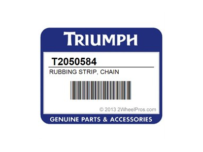 RUBBING STRIP, CHAIN