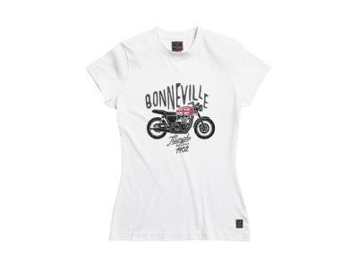 BUTE WHITE LDS TEE