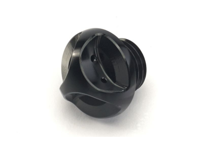 OIL FILLER CAP, BLACK