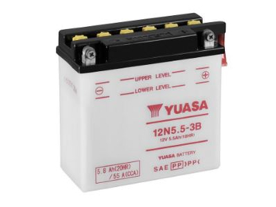 12N5.5-3B YUASA BATTERY & ACID PACK